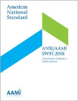 FDA consensus standard taxonomy