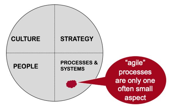 common hurdle to achieving agile benefits